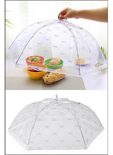 Kitchen Love 36Cm.Gıda Koruma Şemsiyesi Beyaz